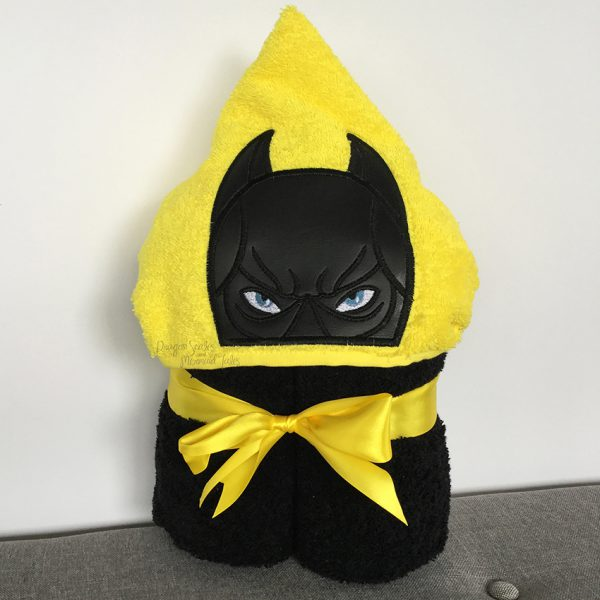 Batman bat man superhero Hooded Towel