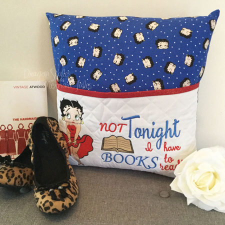 Sexy Betty Boop Reading Cushion