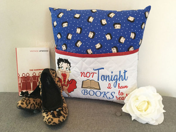 Sexy Betty Boop Reading Cushion