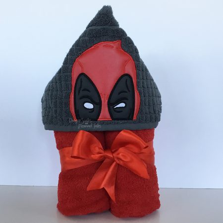 Deadpool Hooded Towel