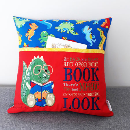 Dinosaur Nerd Reading Cushion
