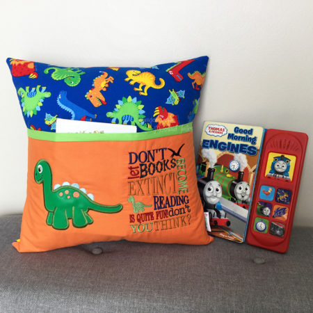 Dinosaur Reading Cushion