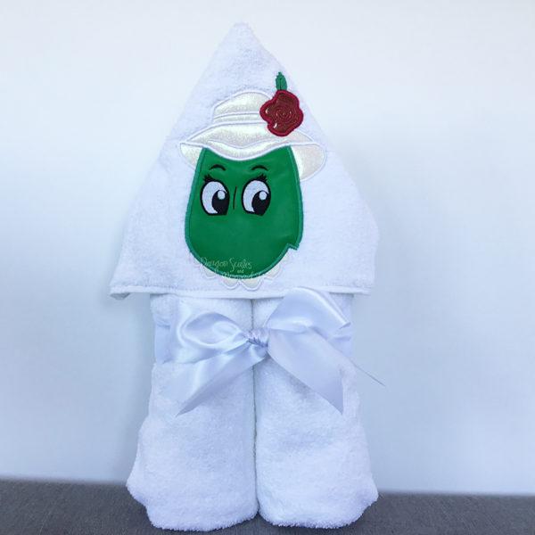 Dorothy Dinosaur Wiggles hooded towel