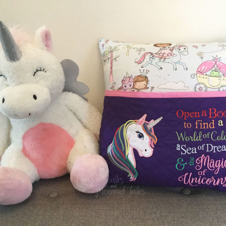Unicorn Magic Reading Cushion