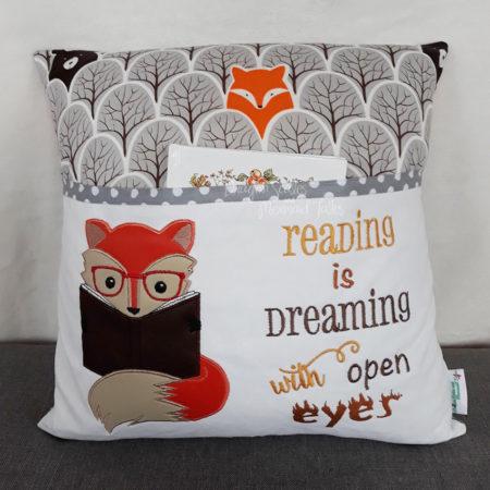 Fox Woodland Reading Cushion