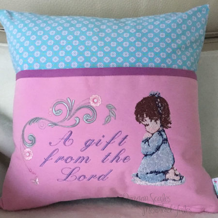 Gift from the Lord Baby Reading Cushion