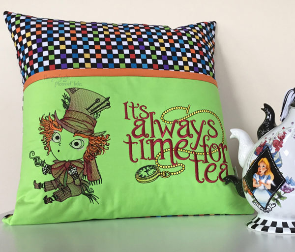 Mad Hatter Tea Reading Cushion
