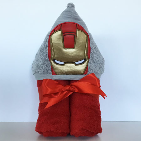 Ironman avengers hooded towel
