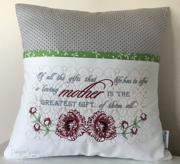 Mother Reading Cushion
