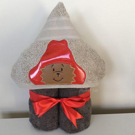 Paddington Bear Marmalade Hooded Towel