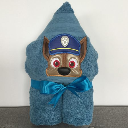 Chase Paw Patrol Police Pup Hooded Towel