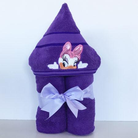 Daisy Duck hooded towel