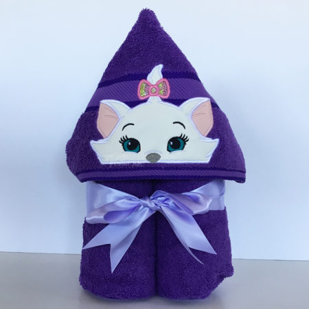 Marie aristocats hooded towel