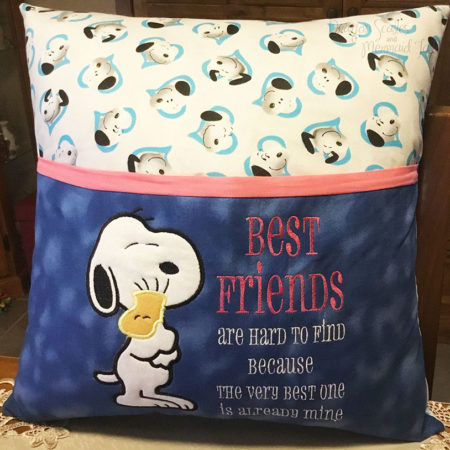 Snoopy Best Friends Cushion