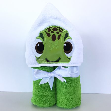 Squirt Turtle Finding Nemo Hooded Towel