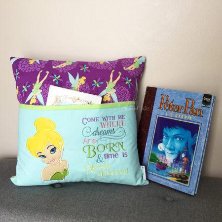 Tinkerbell Peter Pan reading cushion