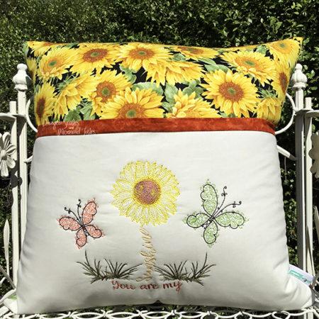 You are my sunshine reading cushion