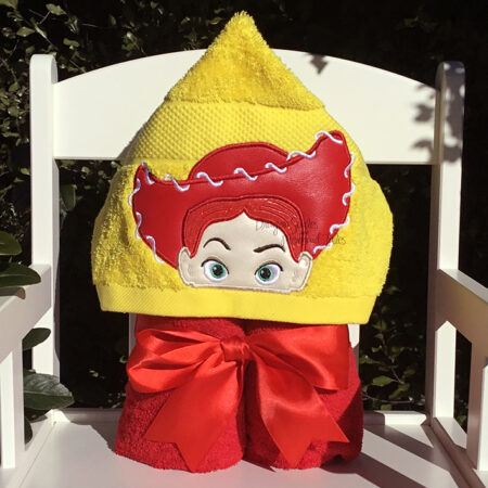 Jessie toy story cowgirl hooded towel