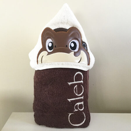 Little Foot land before time baby dinosaur long neck hooded towel