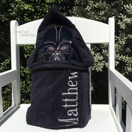 darth vader dark father hooded towel