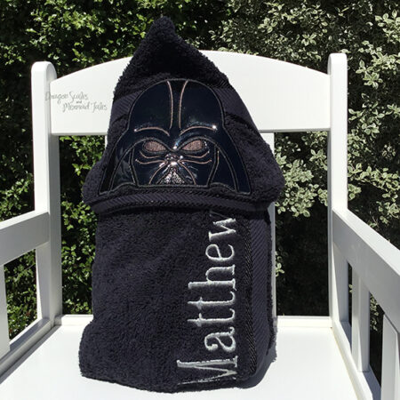 darth vader dark father hooded towel