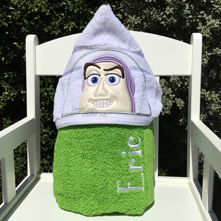 buzz lightyear toy story hooded towel