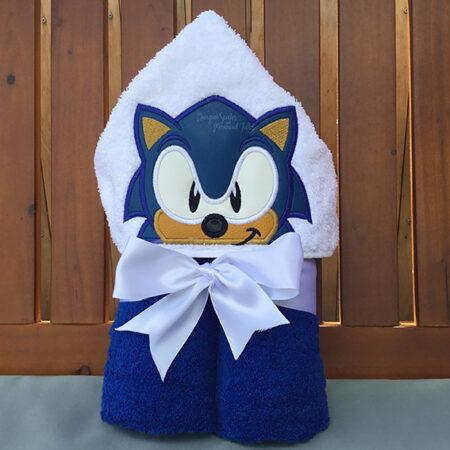 Sonic the Hedgehog hooded towel