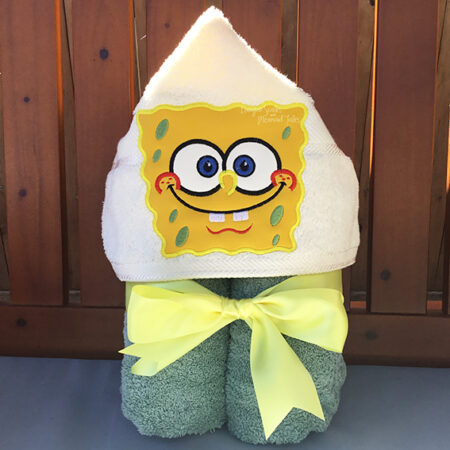 spongebob sponge bob square pants squarepants hooded towel